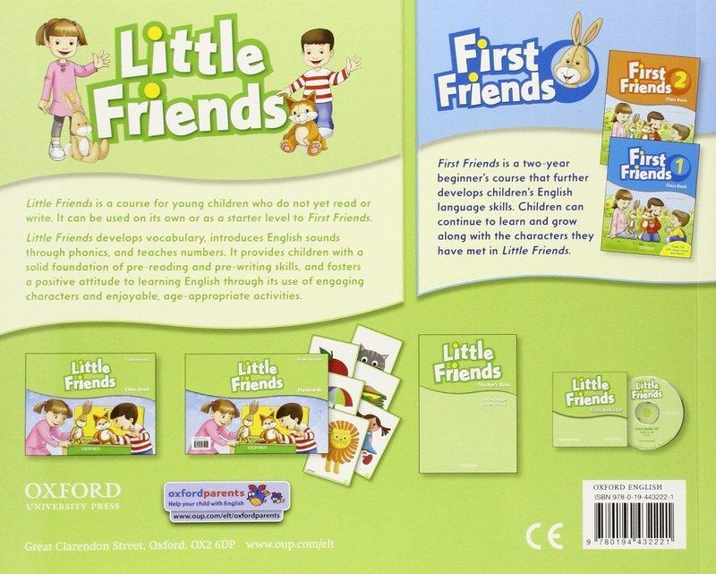 """Купить книгу """"Little Friends. Class Book"""""""