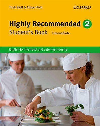 "Купить книгу ""Highly Recommended. Level 2. Student's Book. Intermediate. English for the Hotel and Catering Industry"""