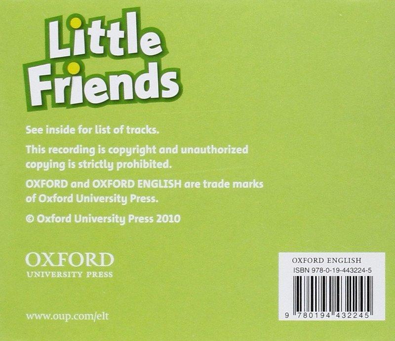 "Купить книгу ""Little Friends (аудиокурс CD)"""
