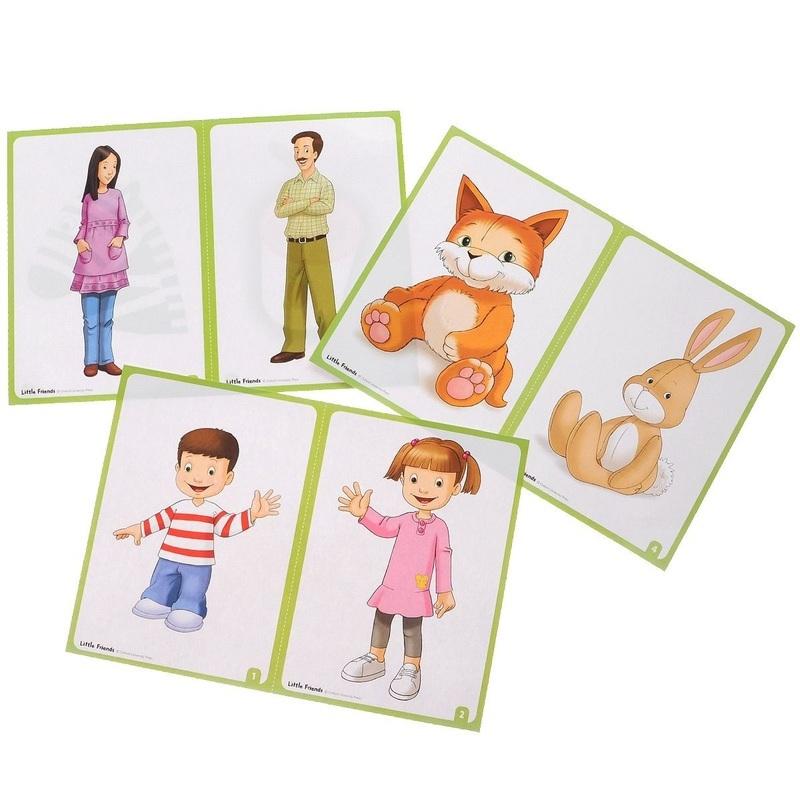 """Купить книгу """"Little Friends. Flashcards (набор из 21 карточки)"""""""