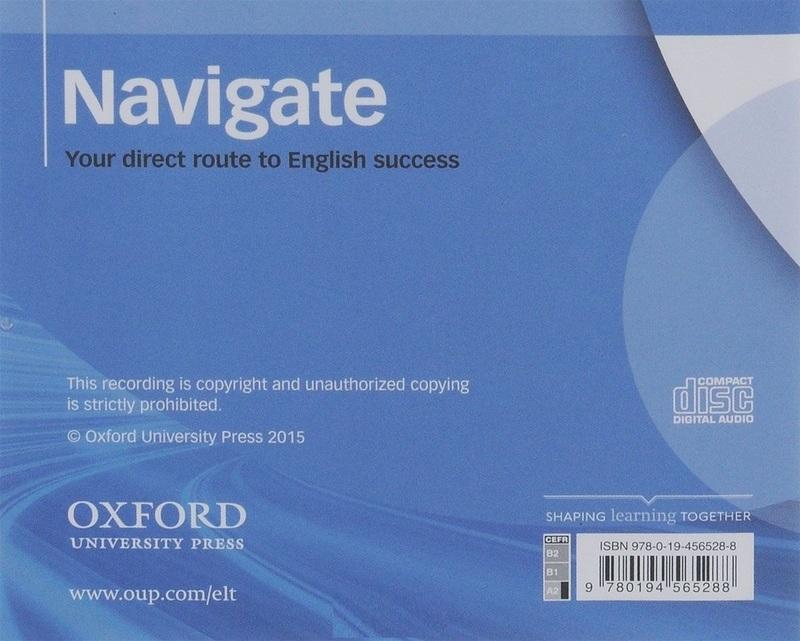"Купить книгу ""Navigate. Elementary A2. Class Audio CDs"""