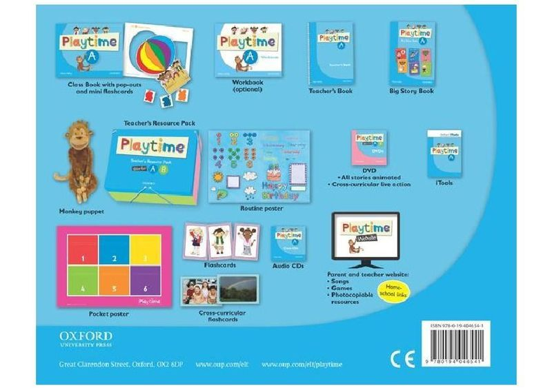 "Купить книгу ""Playtime. A. Class Book"""