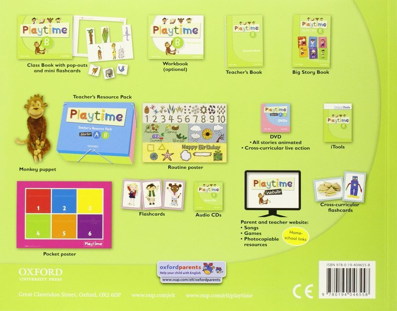"Купить книгу ""Playtime. B. Class Book"""
