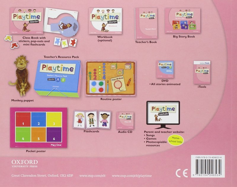 "Купить книгу ""Playtime. Starter. Class Book"""