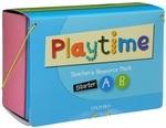 Playtime. Teacher's Resource Pack. Starter A, B (комплект из 3 DVD, 3 книг, 70 карточек, 4 постеров и игрушки)