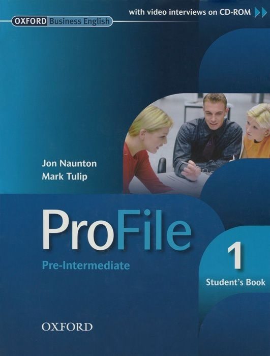 "Купить книгу ""ProFile. Pre-Intermediate 1. Student's Book (+ CD-ROM)"""