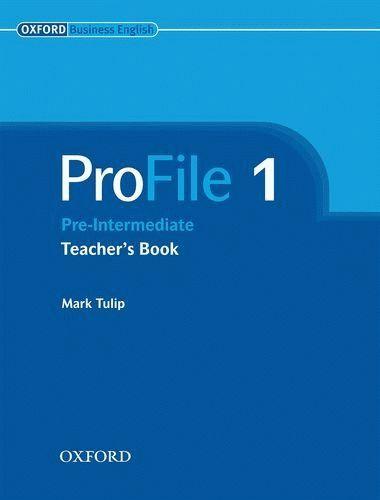 "Купить книгу ""ProFile. Pre Intermediate 1. Teacher's Book"""
