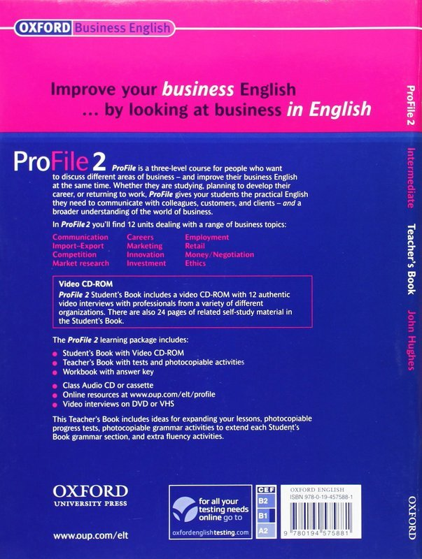 "Купить книгу ""ProFile 2. Intermediate. Teacher's Book"""