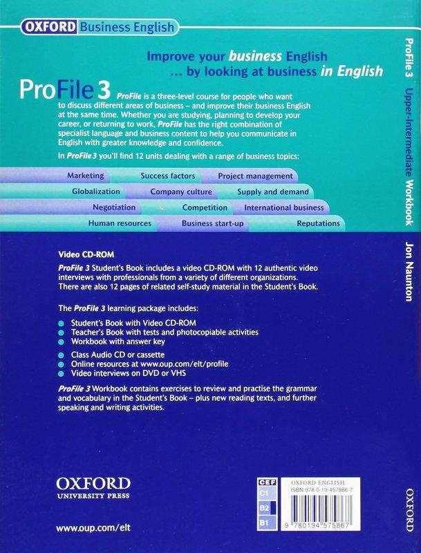 "Купить книгу ""ProFile 3. Upper-Intermediate. Workbook"""