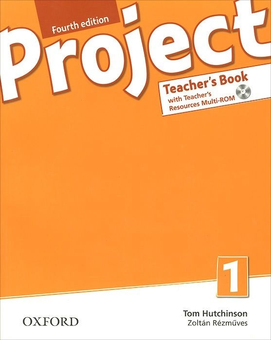 "Купить книгу ""Project 1. Teacher's Book (+ CD-ROM)"""