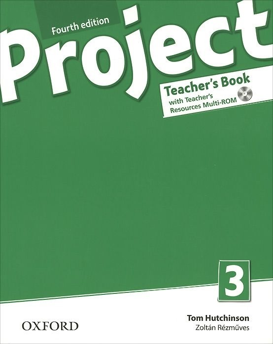 "Купить книгу ""Project 3. Teacher's Book (+ CD-ROM)"""