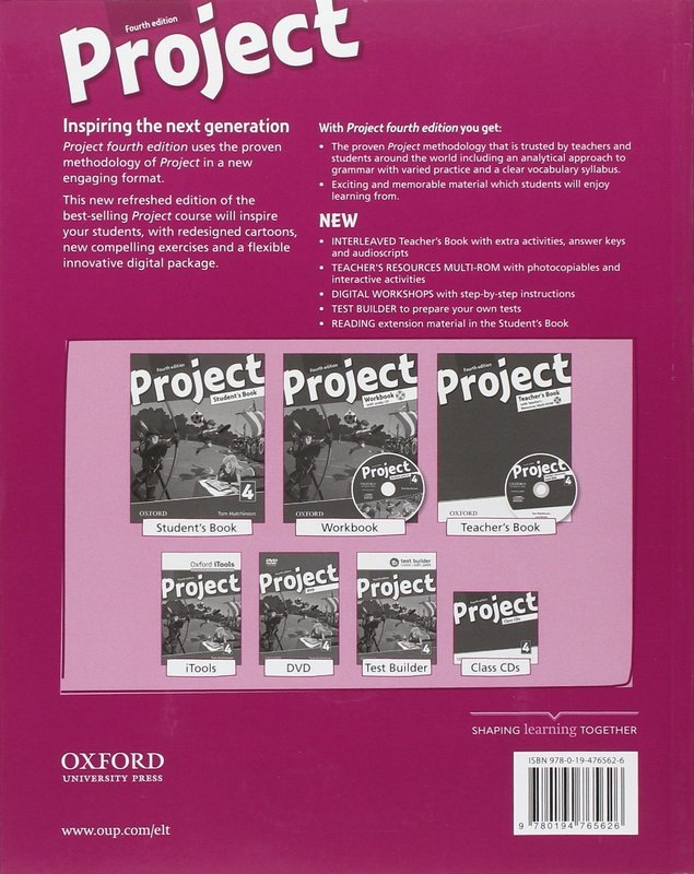 "Купить книгу ""Project 4. Teacher's Book (+ CD-ROM)"""