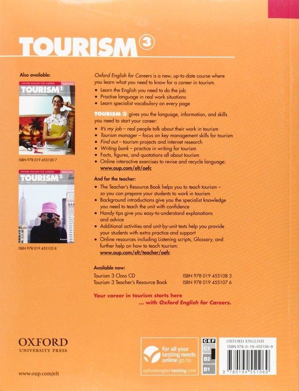 "Купить книгу ""Oxford English for Careers. Tourism 3. Student's Book"""