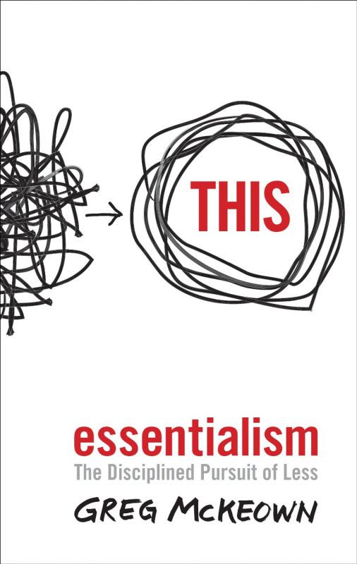 "Купить книгу ""Essentialism: The Disciplined Pursuit of Less"""