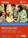 Miteinander: Selbstlernkurs Deutsch fur Anfanger / Самоучитель немецкого языка для начинающих (+ 4 CD) - купити і читати книгу