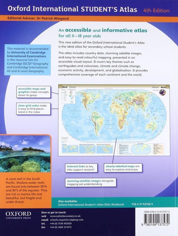 "Купить книгу ""Oxford International Student's Atlas"""