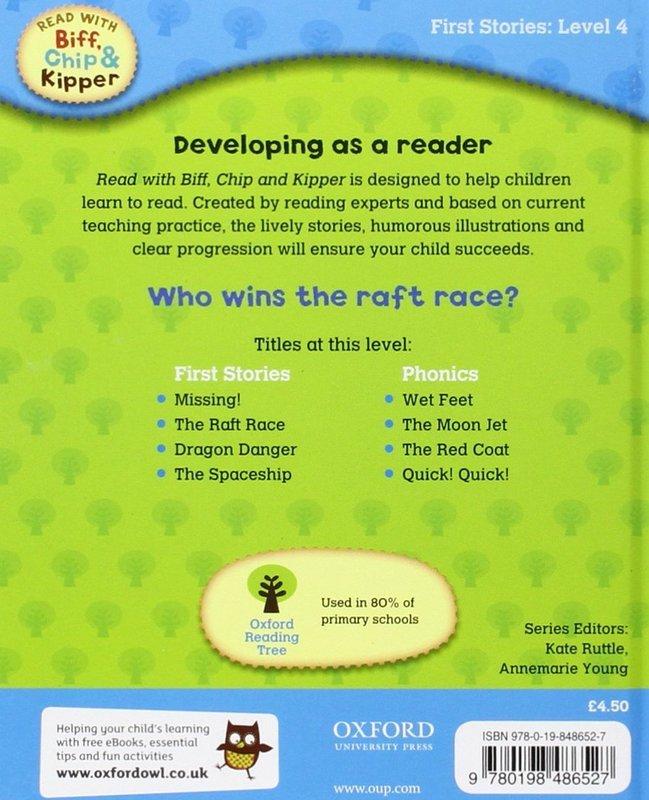 "Купить книгу ""Read With Biff, Chip and Kipper. Level 4. The Raft Race"""