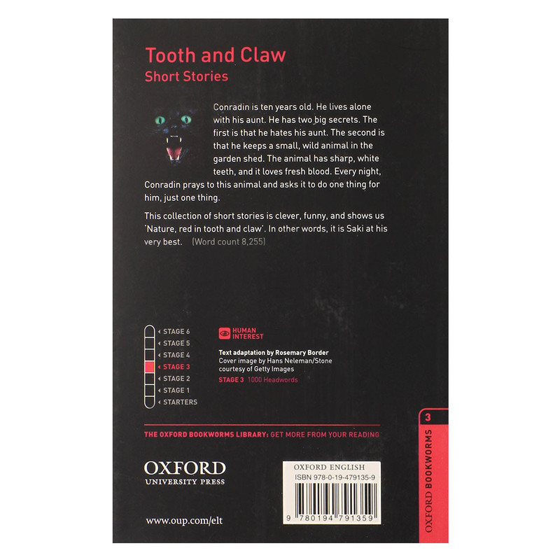 "Купить книгу ""Oxford Bookworms Library. Level 3. Tooth and Claw"""