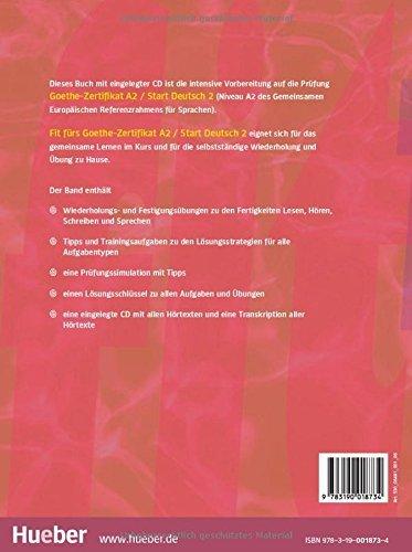 купить книгу Fit Furs Goethe Zertifikat A2 Start Deutsch 2
