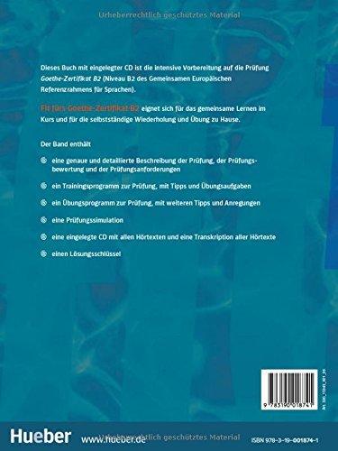 купить книгу Fit Furs Goethe Zertifikat B2 Cd в киеве и украине
