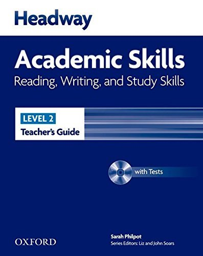 "Купить книгу ""Headway Academic Skills 2. Reading, Writing, and Study Skills. Teacher's Guide with Tests CD-ROM"""