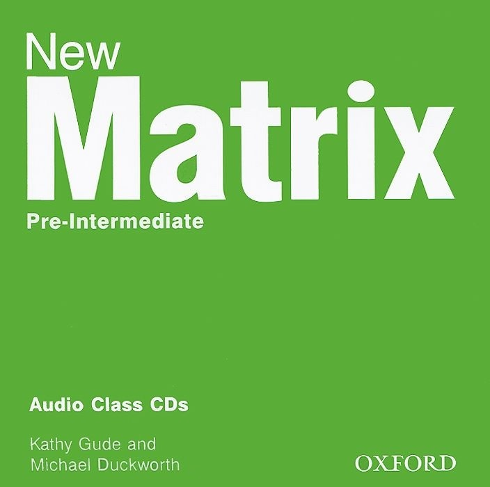 "Купить книгу ""New Matrix: Pre-Intermediate: Audio Class CDs (аудиокурс на 2 CD)"""