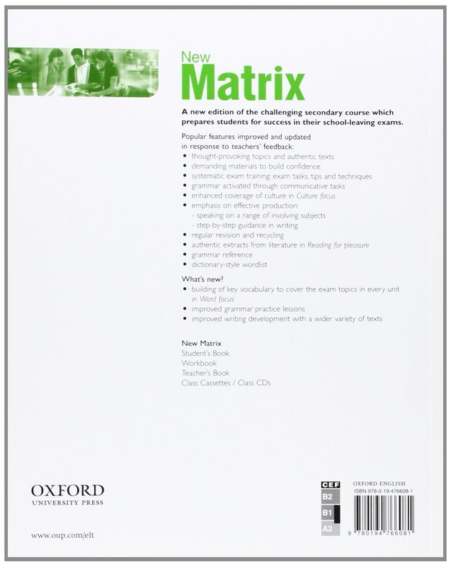 "Купить книгу ""New Matrix. Pre-Intermediate. Workbook"""