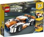 Конструктор LEGO Оранжевый гоночный автомобиль (31089)