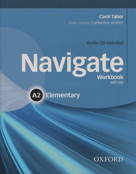 "Купить книгу ""Navigate: Elementary A2: Workbook with Key (+ CD-ROM)"""