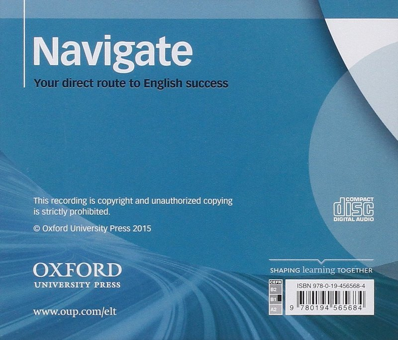 "Купить книгу ""Navigate. Intermediate B1+. Class Audio CDs"""