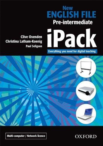 "Купить книгу ""New English File. Pre-Intermediate. iPack (single-computer)"""