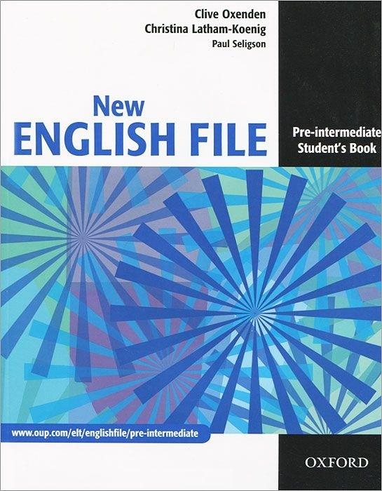 "Купить книгу ""New English File. Pre-intermediate. Student's Book"""