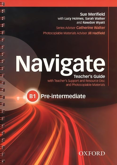 "Купить книгу ""Navigate. Pre-Intermediate B1. Teacher's Guide (+ CD-ROM)"""