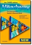 New Headway. Pre-Intermediate Third Edition. Teacher's Resource Book