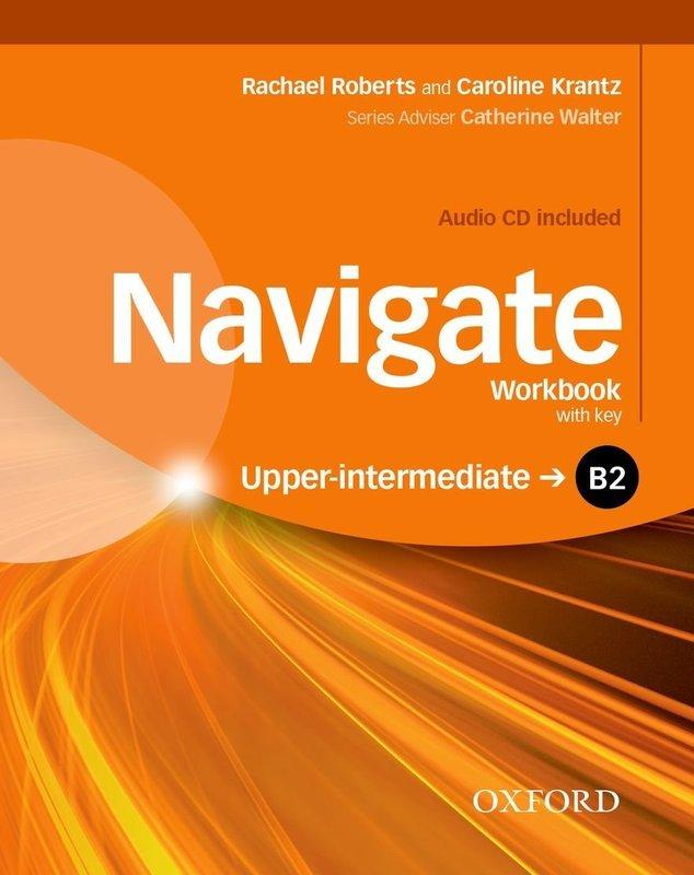 "Купить книгу ""Navigate. B2 Upper-Intermediate. Workbook with CD (without key)"""