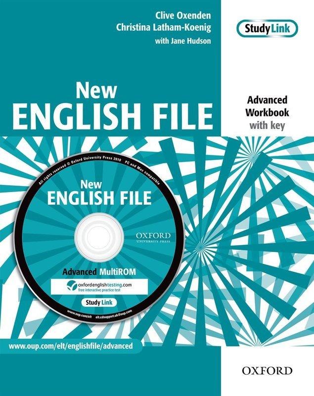 "Купить книгу ""New English File. Advanced. Workbook. With Key (+ CD-ROM)"""