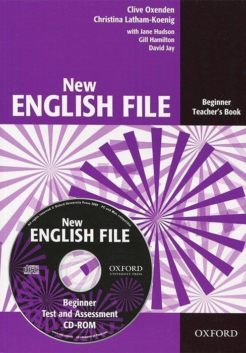 "Купить книгу ""New English File. Beginner. Teacher's Book with Test and Assessment (+ CD-ROM)"""