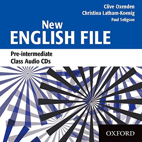 "Купить книгу ""New English File Pre-intermediate. Class Audio CDs (3)"""