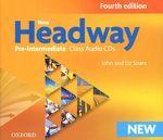 New Headway: Pre-Intermediate (аудиокурс на 3 CD)