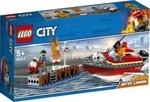 Конструктор LEGO Пожар в порту (60213)