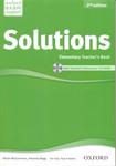 Solutions. Elementary. Teacher's Book + CD-ROM