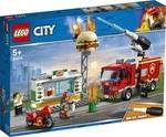 Конструктор LEGO Пожар в бургер-кафе (60214)