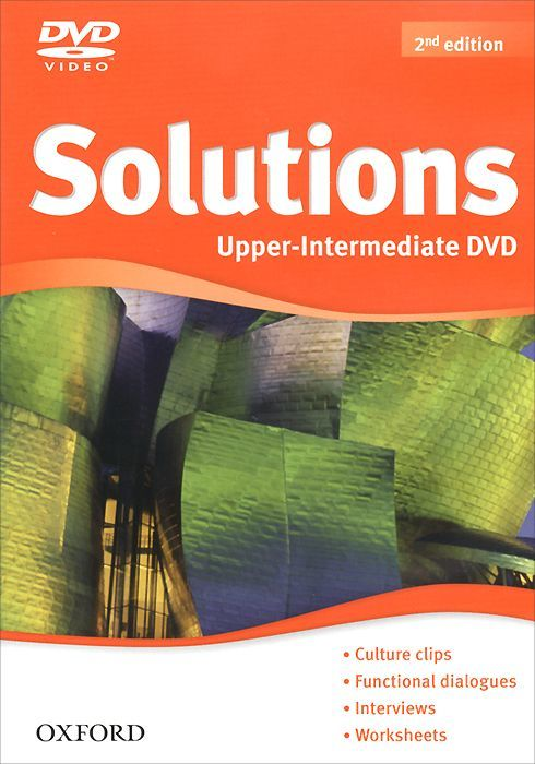 "Купить книгу ""Solutions: Upper-Intermediate (аудиокурс на DVD-ROM)"""