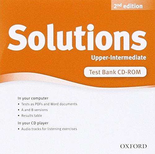 """Купить книгу """"New Solutions Upper Intermediate Test CD-rom"""""""