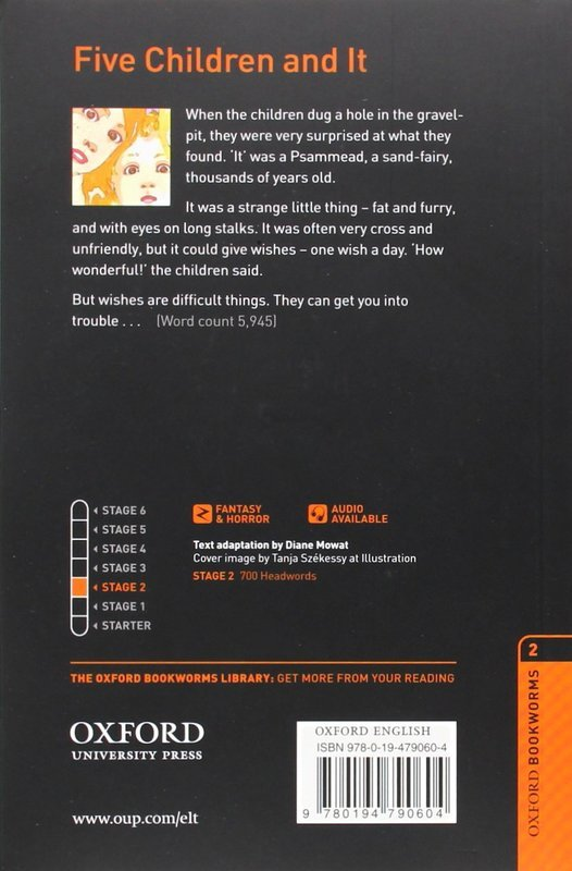 "Купить книгу ""OBL. Level 2. Five Children and It + Audio CD"""