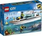 Конструктор LEGO Яхта для дайвинга (60221) - купити онлайн