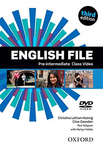 "Купить книгу ""English File third edition. Pre-intermediate. Class DVD"""