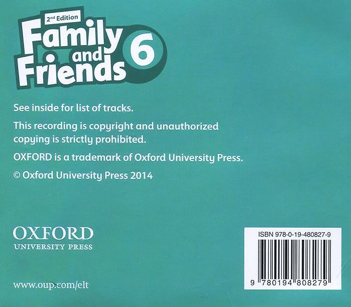 "Купить книгу ""Family and Friends: Level 6: Class Audio CDs (аудиокурс на 3 CD)"""