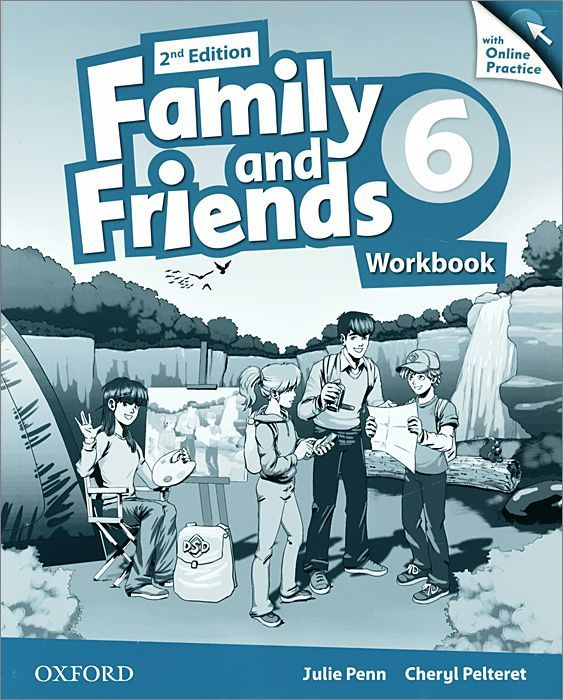 "Купить книгу ""Family and Friends. Level 6. Workbook with Online Practice"""