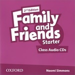 Family and Friends: Starter: Class Audio CDs (аудиокурс на 2 CD)